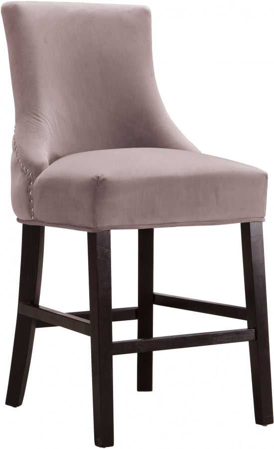 Hanna Velvet Counter Height Stool in 4 Color Options
