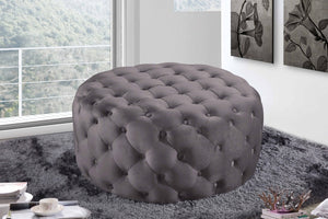 Addie Tufted Velvet Ottoman in 7 Color Options