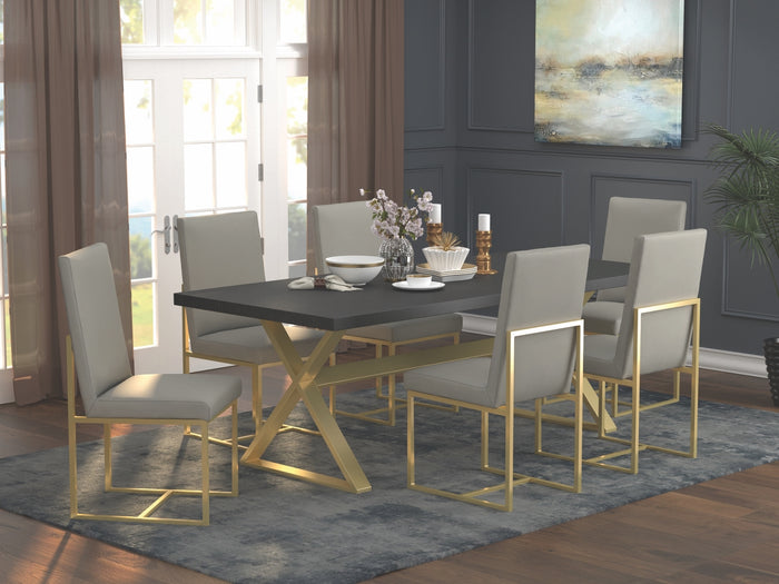 Connie Contemporary Dining Room Collection