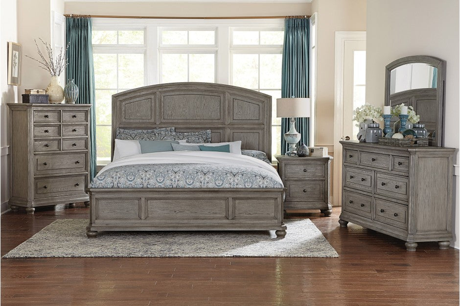 Vania Grey Bedroom Collection