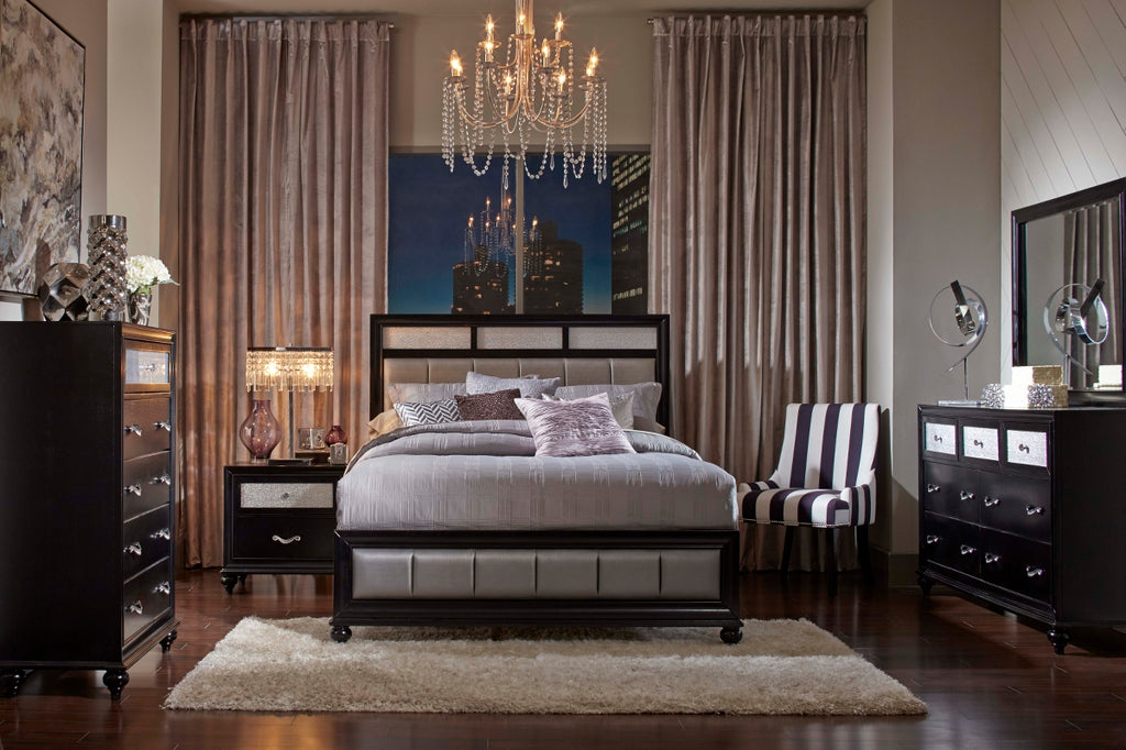 Barras Transitional Glam Bedroom Collection