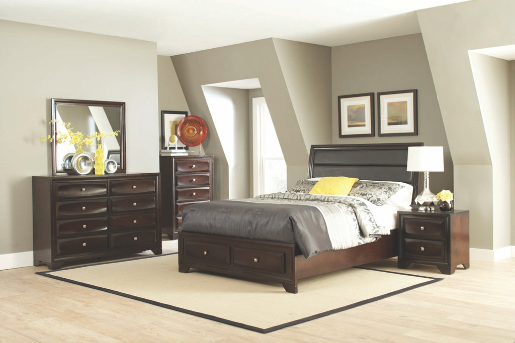 Jax Storage Platform Bedroom Collection