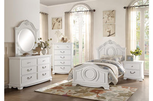 Lucy Traditional White Bedroom Collection