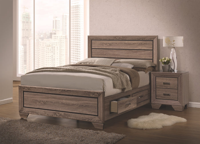 Hoffman Storage Platform Bedroom Collection