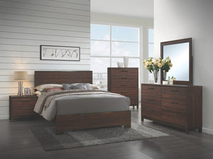 Edman Rustic Tobacco Bedroom Collection