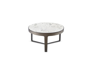 Thea Round Occasional Collection with Quartz Top