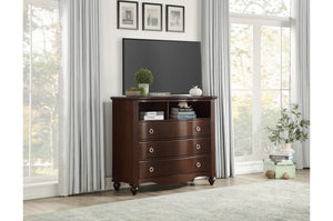 Maggie Storage Bedroom Collection in Espresso or White Finish
