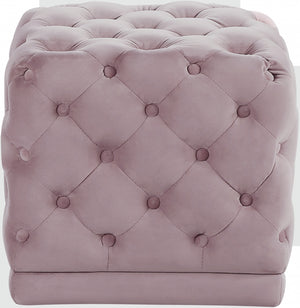 Eileen Tufted Velvet Ottoman in 7 Color Options