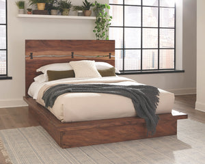 Madden Rustic Platform Bedroom Collection