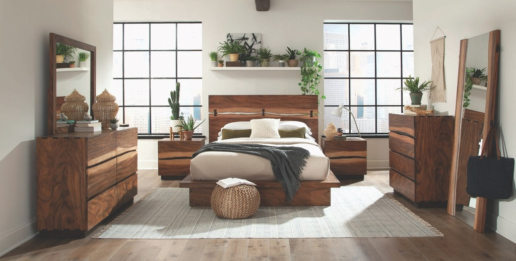 Madden Rustic Storage Platform Bedroom Collection