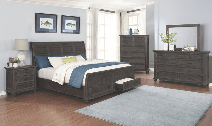 Cadero Storage Platform Bedroom Collection