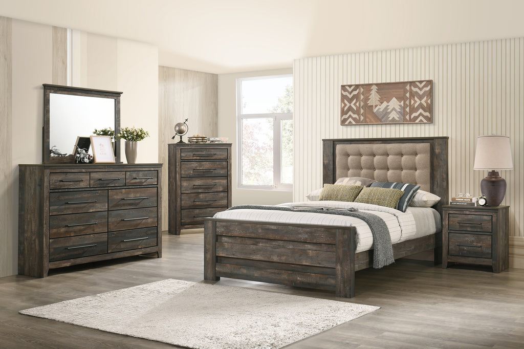 Ridge Rustic Bedroom Collection