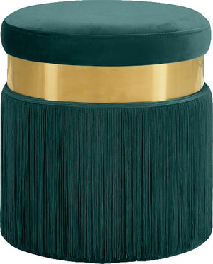 Jasmine Velvet Ottoman in 4 Color Options