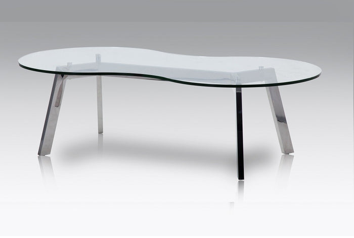 Carl Modern Glass Coffee Table