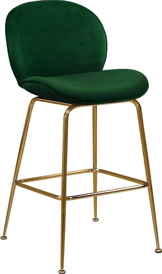 Page Velvet Counter Height Stool in 5 Color Options