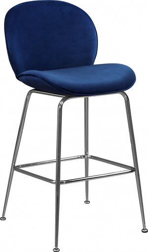 Page Velvet Counter Height Stool in 3 Color Options