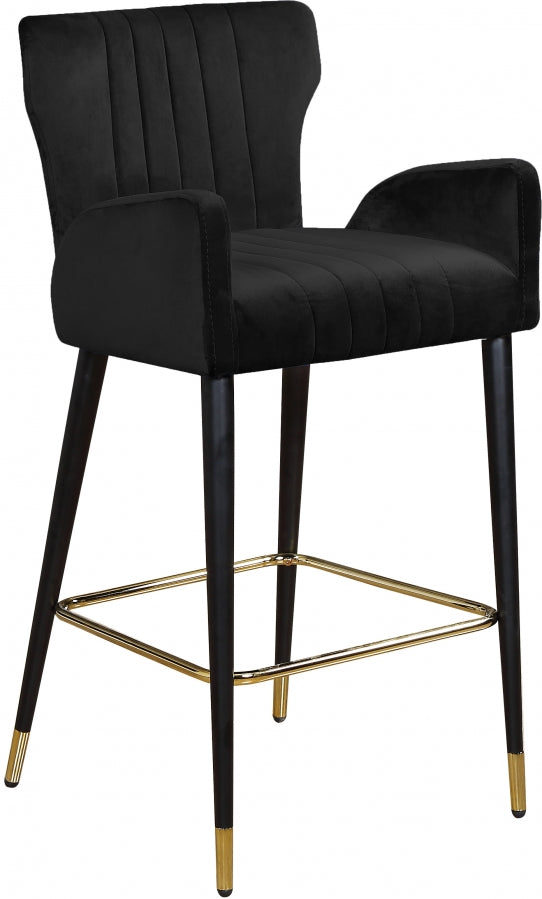 Pixie Velvet Counter Height Stool in 5 Color Options