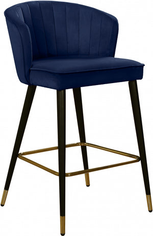 Casey Velvet Counter Height Stool in 5 Color Options