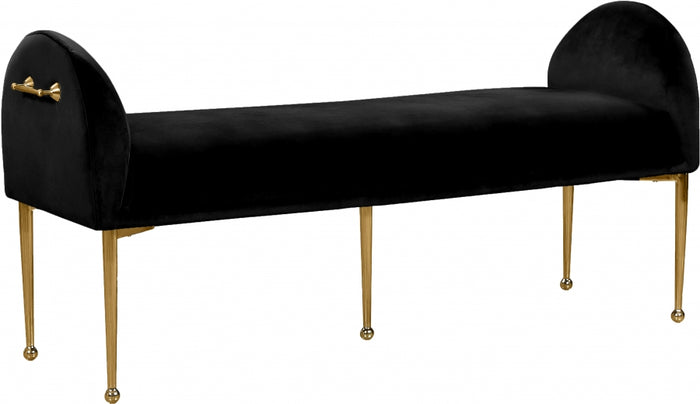 Ollie Velvet Bench in 5 Color Options