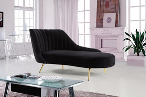 Margaret Velvet Chaise Lounge