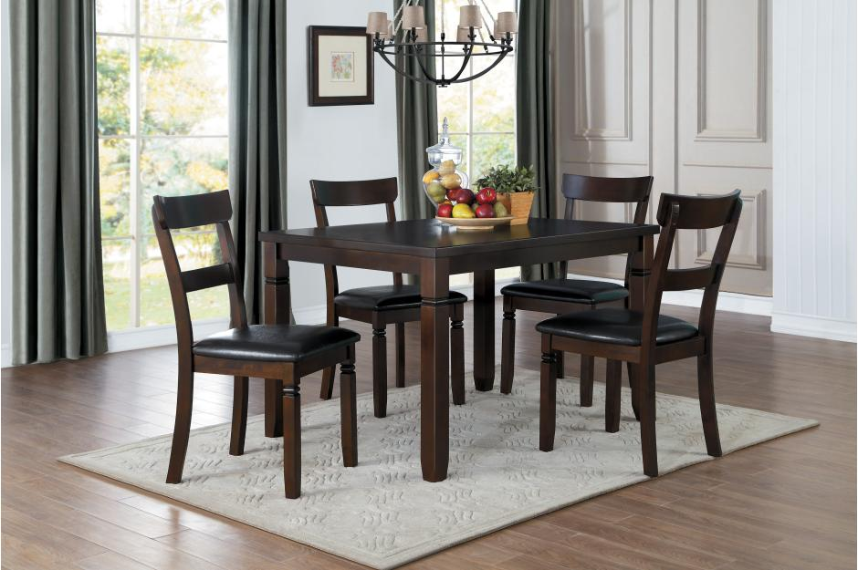 Oksana 5 Piece Dining Room Set