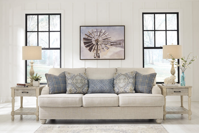 Tracy Linen Living Room Collection with Optional Queen Size Sleeper