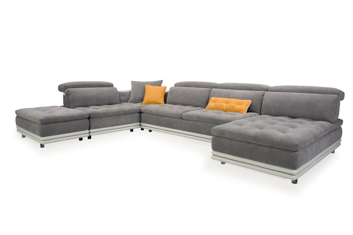 Perry Modular Sectional with Adjustable Headrests