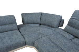 Camilla Sectional with Adjustable Back Mechanism