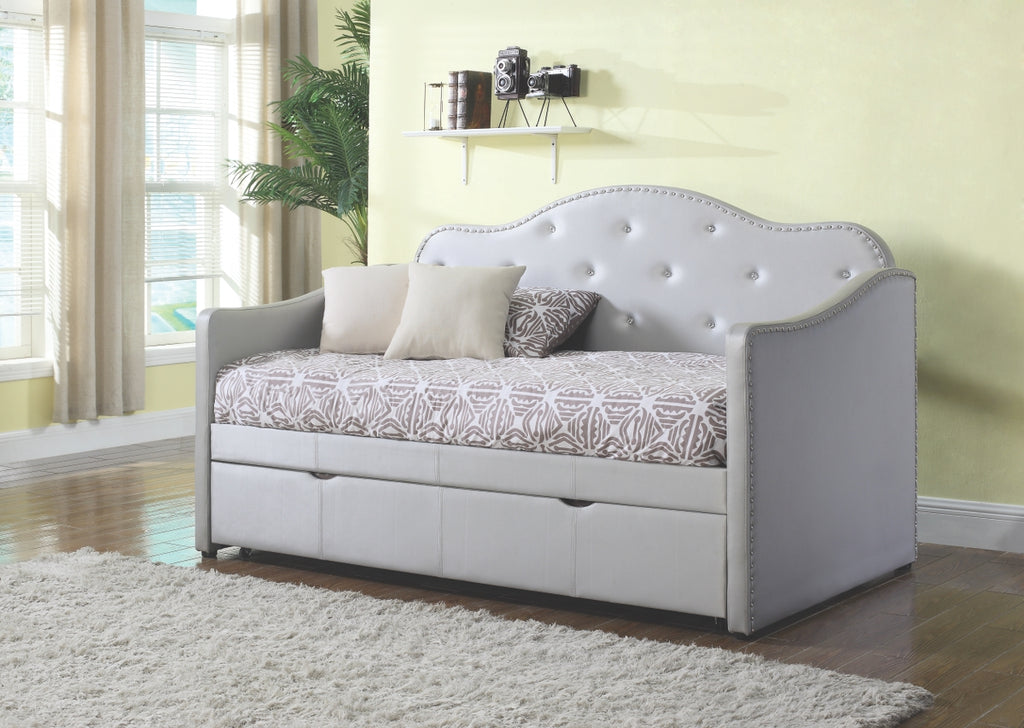 Dilana Tufted Upholstered Daybed with Trundle