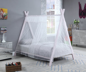 Pink Teepee Canopy Bed