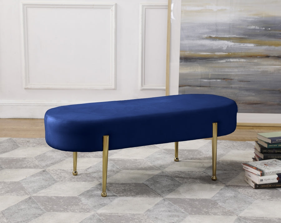 Gideon Velvet Bench in 6 Color Options