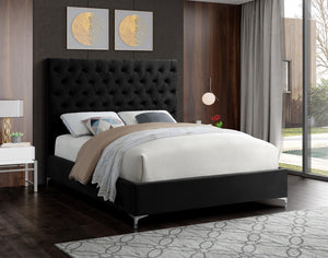 Crane Tufted Velvet Bed in 6 Color Options