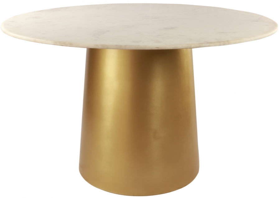 Sharon Round Marble Dining Table