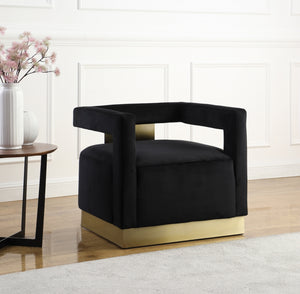 Armen Velvet Accent Chair in 5 Color Options