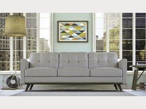 Monika Mid Century Leather Living Room Collection