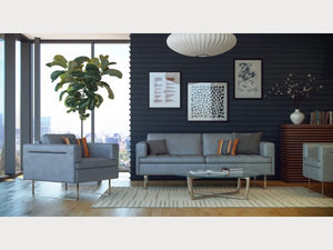 Frensen Leather Living Room Collection