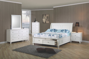 Hermosa Beach Storage Bedroom Collection