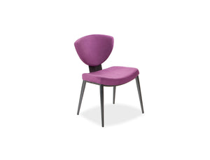 Bliss Upholstered Dining Chair with Tapered Legs