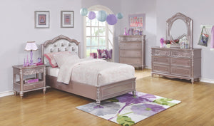 Carolina Upholstered Headboard Bedroom Collection with Optional Storage