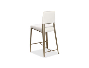 Vivian Contemporary Upholstered Stool in Counter or Bar Height