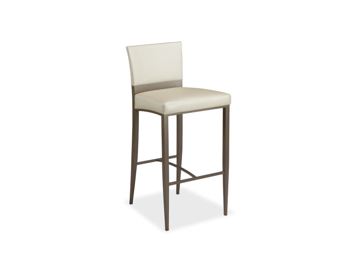 Carina Upholstered Stool in Counter or Bar Height
