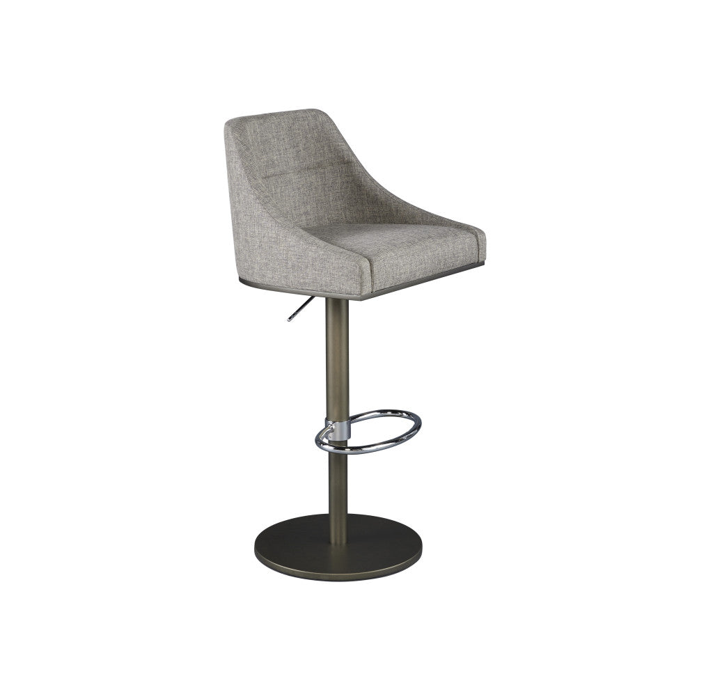 Senna Curve Back Adjustable Barstool