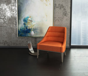 Senna Channel Tufted Accent Chair