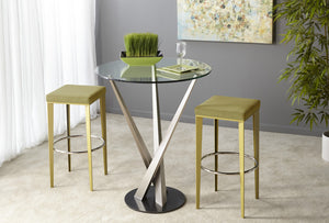 Gus Square Backless Stool in Counter or Bar Height