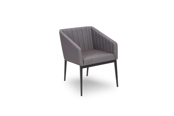 Folio Contemporary Dining Chair with Tapered Legs