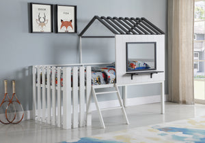 Twin Size House Themed Loft Bed