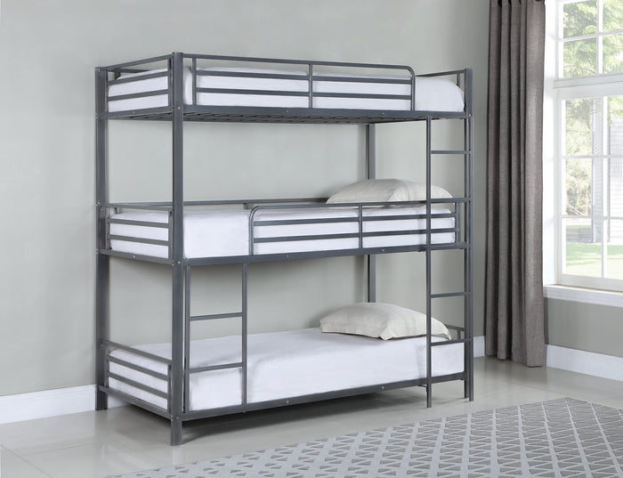 May Triple Twin Metal Bunkbed