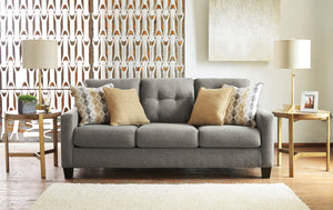 Dylan Graphite Living Room Collection with Optional Queen Sleeper