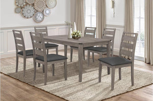 Woody Dining Room Collection with Ladder Back Chair
