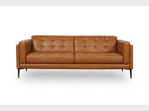 Murray Tan Leather Living Room Collection